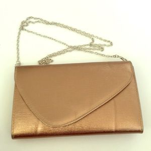 Evening bag with two straps both removable(NWOT)